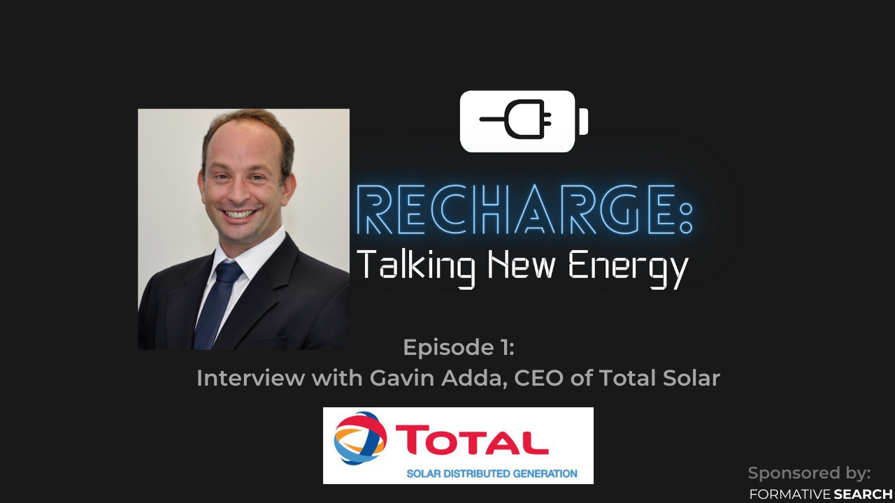 Recharge: Talking New Energy Podcast Image